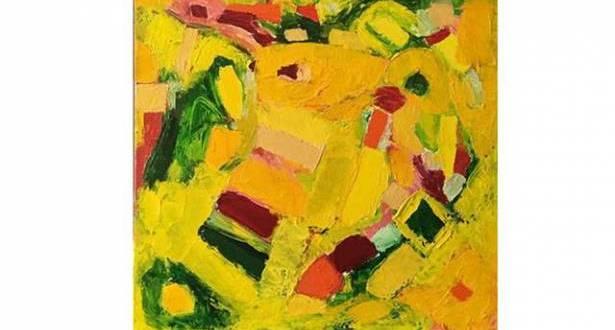 """""""تقاسيم"""" جوزف فالوغي في """"غاليري اكزود"""": اللوحة المختمرة تفوح في ثمالة الحنان التجريدي"""