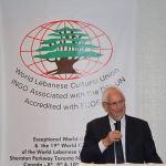 ئيس تجمع رجال الاعمال اللبنانيين الفرنسيين رئيس المجلس الإقتصادي العالمي في الجامعة الثقافية في العالم أنطوان منسى