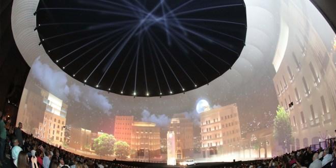 افتتاح مهرجانات بيروت الثقافية وبلدية بيروت بمشهدية عن تاريخ العاصمة بعيني مغترب لبناني يتعرف على بلده