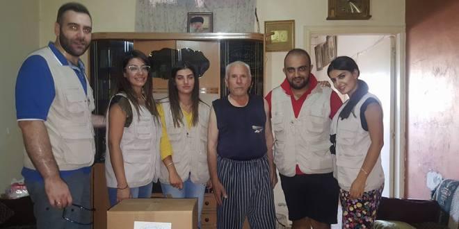 جمعية روح زورن ببيتن وزعت مساعدات في الضاحية الجنوبية