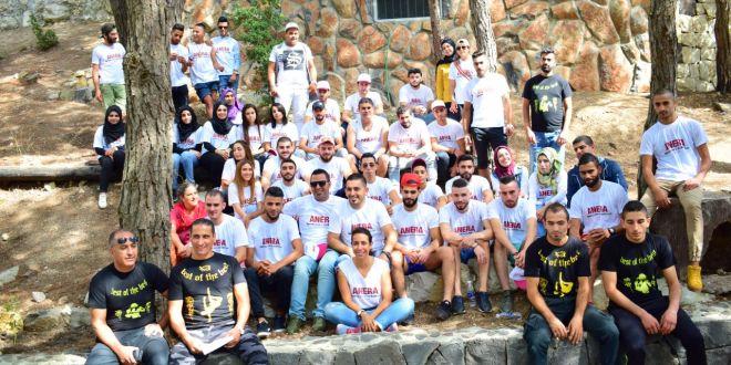 مخيم شبابي في القبيات لجمعية أنيرا بالتزامن مع يوم السلام العالمي