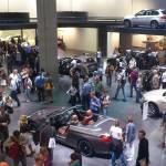 معرض فرانكفورت 2017 ... جدول مزدحم بالسيارات
