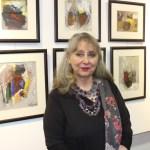 إكزود يستضيف الفنانة التشكيلية رينيه فواز في معرضها الفردي RYTHME ET VISION