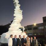 بلدية جبيل أزاحت الستارة عن نصب تذكاري يجسد مدينة الحرف