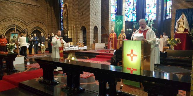 احتفال بمناسبة عيد القديس مارون في بروكسيل
