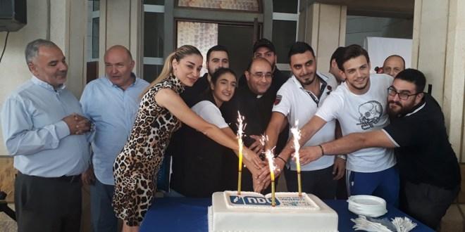 جامعة سيدة اللويزة فرع الشمال احتفلت بعيد تأسيسها