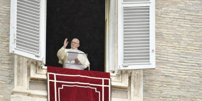 البابا فرنسيس: لتساعدنا العذراء مريم لكي نتبع يسوع بفرح على درب الخدمة