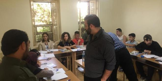 دورة تدريبية في بلدة الشقدوف العكارية عن الخدمة التطوعية