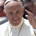 لقاء البابا فرنسيس مع أطفال وموظفي مستوصف سانتا مارتا