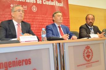 Pedro Carrión, Francisco Gil-Ortega y Julián Garde