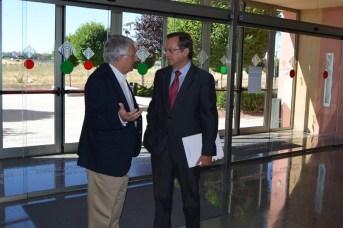 Juan Emilio Felíu y Jaime del Barrio, a su llegada a la Facultad de Medicina