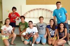Tercer grupo de alumnos participantes en el campus