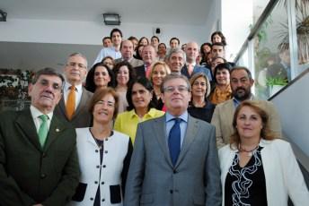 Fotografía de grupo de los participantes