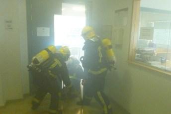 Actuación del equipo de Emergencia Ciudad Real