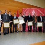 Premiados y autoridades