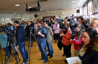 El acto institucional se celebró en la sede del IREC, donde también está instalada la exposición