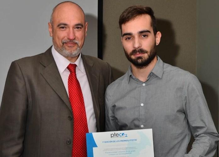 Un doctorando de la UCLM, distinguido por la Plataforma Tecnológica Española del CO2