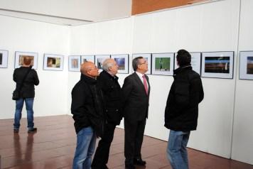 Visitando la exposición