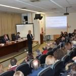 Intervención de Domingo Docampo en el Campus de Ciudad Real