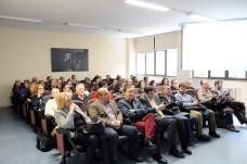 Investigadores asistentes a la charla en el Campus de Cuenca