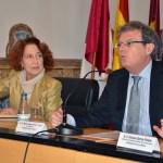 El rector acompañó a Carmen Iglesias en su visita al Campus de Toledo