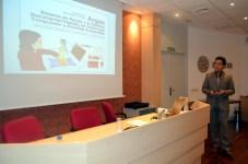El profesor Carlos González presenta el proyecto Argos