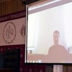 Juan Ignacio Cirac durante su intervención en el encuentro