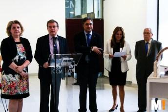 Inauguración del acto de celebración del 20 aniversario de la Escuela