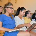 Participan fundamentalmente estudiantes de Derecho y Administración y Dirección de Empresas