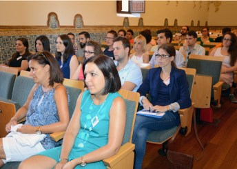 Jóvenes investigadores participantes en el encuentro