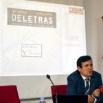 El decano de la Facultad de Letras, Matías Barchino, presentó el programa de actos por el XXX aniversario del centro