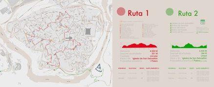 Rutas del Casco Histórico y del Cerro del Bú