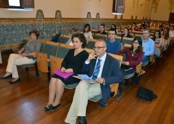 Profesores y alumnos asistentes