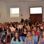 Numerosos universitarios participaron en la jornada