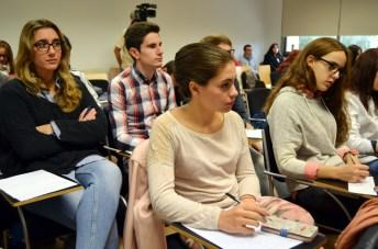 Un grupo de los alumnos participantes en este seminario