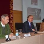 El rector, el vicealcalde y la vicerrectora de Relaciones Internacionales inauguraron la jornada