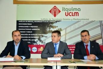 De izqda. a dcha.: Juan Francisco Rodríguez, Manuel Villasalero y Pablo Cañizares