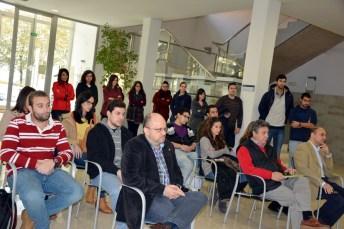 Alumnos y profesores asistentes a la inauguración del máster