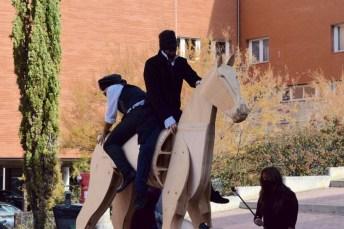Malaestripe Teatro representa en Cuenca su particular 'Clavileño'