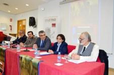 El vicerrector de Docencia -centro- abrió el encuentro