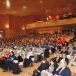 Numeroso público arropó a Collado en su segunda investidura como rector de la UCLM