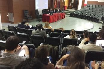El seminario se celebra en el Aula Magna de la Biblioteca de Ciudad Real