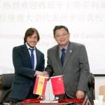 Convenio con la Universidad Normal del Centro de China