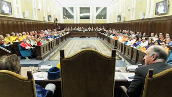 Sesión plenaria en la RADE