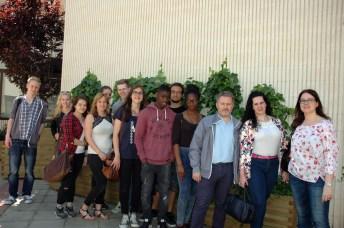 Visitaron las instalaciones de la Facultad de Educación de Albacete