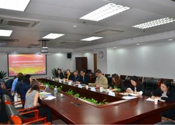 Reunión de trabajo con los responsables del Jiangxi College of Foreing Studies