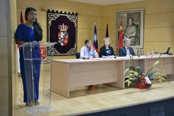 La vicerrectora de Cultura, Deporte y Extensión Universitaria de la Universidad de Castilla-La Mancha (UCLM), María Ángeles Zurilla, ha inaugurado la sexta edición del Curso Anual de Lengua y Cultura Española y el I Curso Intensivo de Otoño