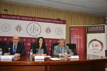 """Inauguración del curso """"Vino y comunicación: el caso de la Denominación de Origen La Mancha"""""""