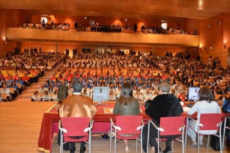 Aforo completo del Paraninfo de Ciudad Real en el acto de apertura del curso académico 2016-2017 de la UCLM
