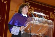 La profesora Ana Briones, durante la lectura inaugural